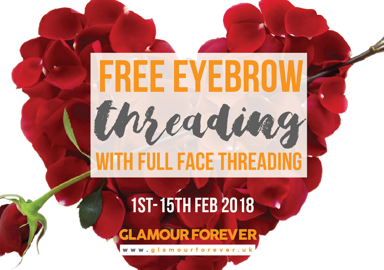 Free Eyebrow Threading With Full Face Threading Brunswick