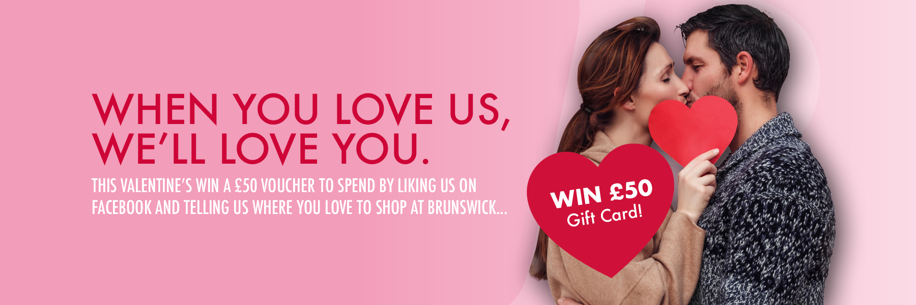 Win £50 Gift Card this Valentine's