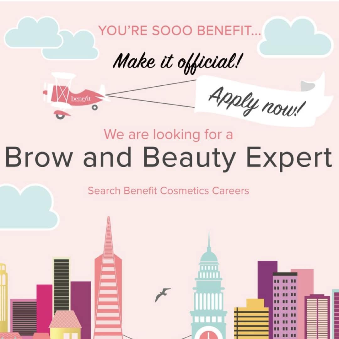 Benefit Beauty Advisor – Brunswick