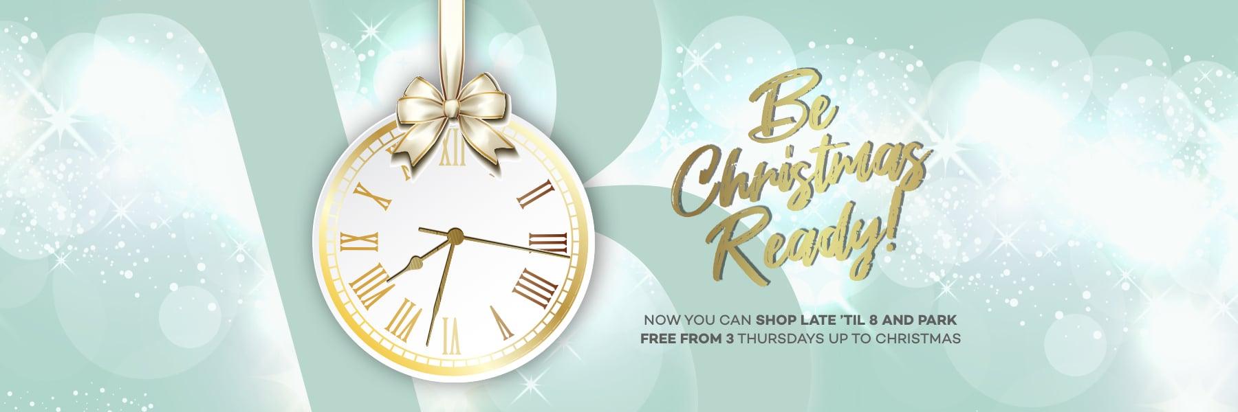 Late Night Christmas Shopping Thursdays